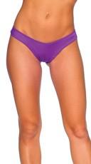 Bright Scrunch Back Bottom - Purple