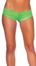 Scrunch Side Shorts - Neon Green