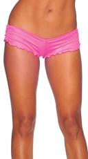 Scrunch Side Shorts - Fuchsia