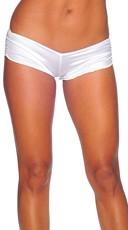 Scrunch Side Shorts - White