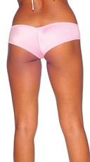 Super Micro Lycra Booty Shorts - Baby Pink