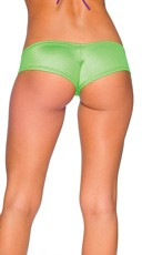 Super Micro Lycra Booty Shorts - Neon Green