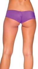 Super Micro Lycra Booty Shorts - Purple