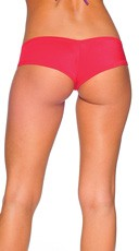 Super Micro Lycra Booty Shorts - Red