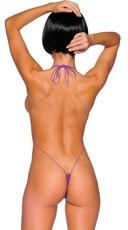 Teeny Weeny String Monokini - Purple
