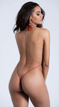 Teeny Weeny String Monokini - Red