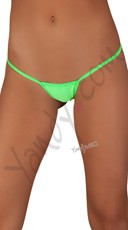 Bright G-String - Neon Green