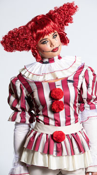 Sadistic Clown Costume - as shown