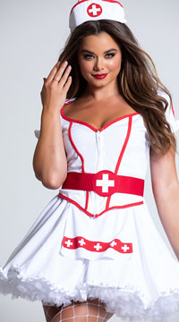 Heart Breaker Nurse Costume - as shown