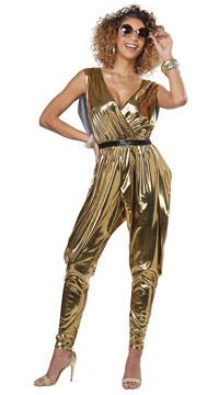 70s Glitz N Glamour Costume - Gold
