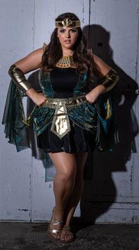 Plus Size Egyptian Goddess Costume Plus Size Cleopatra Halloween