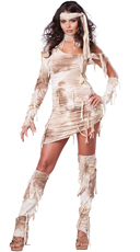 Sexy Mystical Mummy Costume - as shown