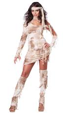 Sexy Mystical Mummy Costume - Tan
