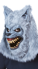Men's Gray Lycan Costume - as shown