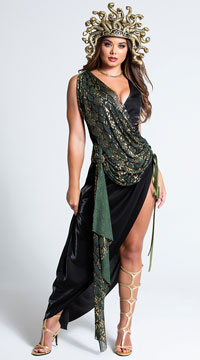 Sexy Sedusa Costume - Green