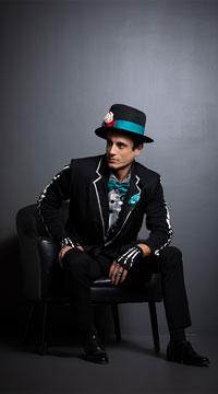 Men's El Novio Muerto Costume - as shown