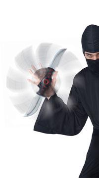 Stealth Strike Ninja Sword - as shown