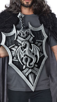 Dragon Lord Sword and Shield - as shown