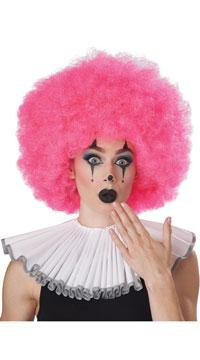 Neon Pink Jumbo Afro Wig - Pink