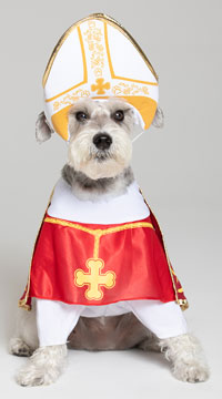 Holy Hound Dog Costume - Red/White