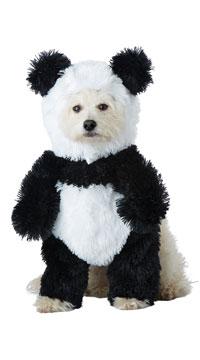 Panda Pooch Dog Costume - Black/White