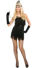 Chicago Flapper Costume - Black