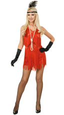 Chicago Flapper Costume - Red