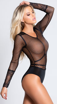 Bad Intentions Bodysuit - Black
