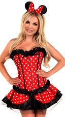 Deluxe Cutie Pie Miss Mouse Costume