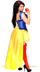Poison Apple Corset Costume - Blue/Yellow
