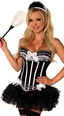Deluxe For Your Pleasure French Maid Costume