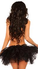 Black Petticoat - Black