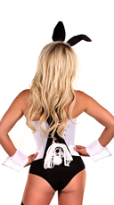 Deluxe Tuxedo Bunny Costume - Black/White