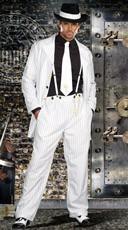 Zoot Suit Riot Costume - White