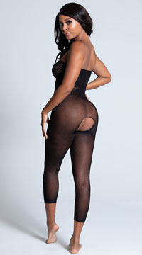 Two-Way Bodystocking - Black