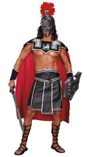 Plus Size Men's Battle Beast Warrior Costume
