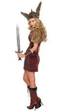 Voracious Viking Woman Costume