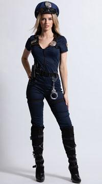 Lieutenant Ivana Misbehave Costume