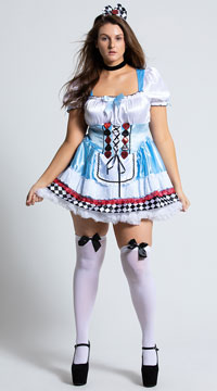 Plus Size Beyond Wonderland Costume