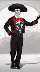 Men's Dude Of The Dead Costume