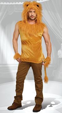 59c93a216 Men's King of the Jungle Costume, Men's Lion Costume- Yandy.com