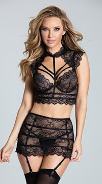 Fancy That Bralette Set - as shown