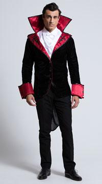 Men's Just One Bite Costume - Black/Red