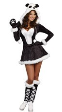 Panda Bear Baby Costume - Multi