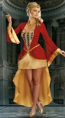Royally Yours Queen Costume - Multi