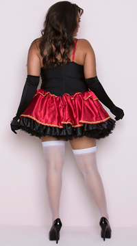 Plus Size Little Red Costume - Red