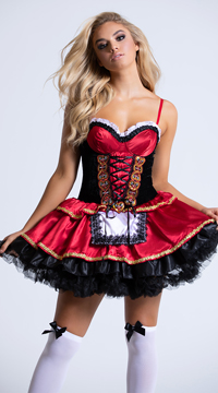 Little Red Costume - Red