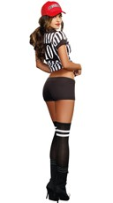 My Rules Referee Babe Costume - Multicolor