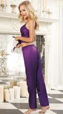 Plum Perfection Camisole and Pants - Plum