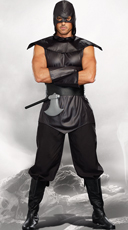 Men's Assassin Costume - Black